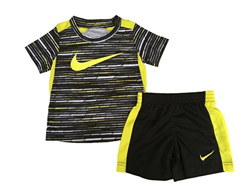 85d070d9f Short Sets – NIKE Toddler Boys' Dri Fit Short Sleeve T-Shirt and Short 2  Piece Set (Electrolime (76C026-E5A)/Black/Black, 2T) Offers