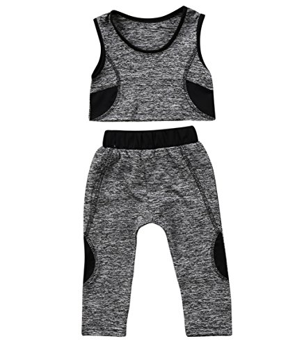 a28f50fc4fdde Hoodies & Active – Toddler Kids Baby Girls Tracksuit Outfits Crop ...