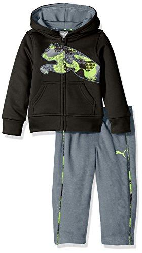 PUMA Baby-Boys Fleece Hoodie Set Hooded Sweatshirt