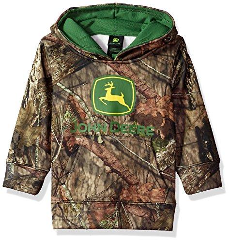 John Deere Baby-Boys Fleece Zip Hoody Hooded Sweatshirt
